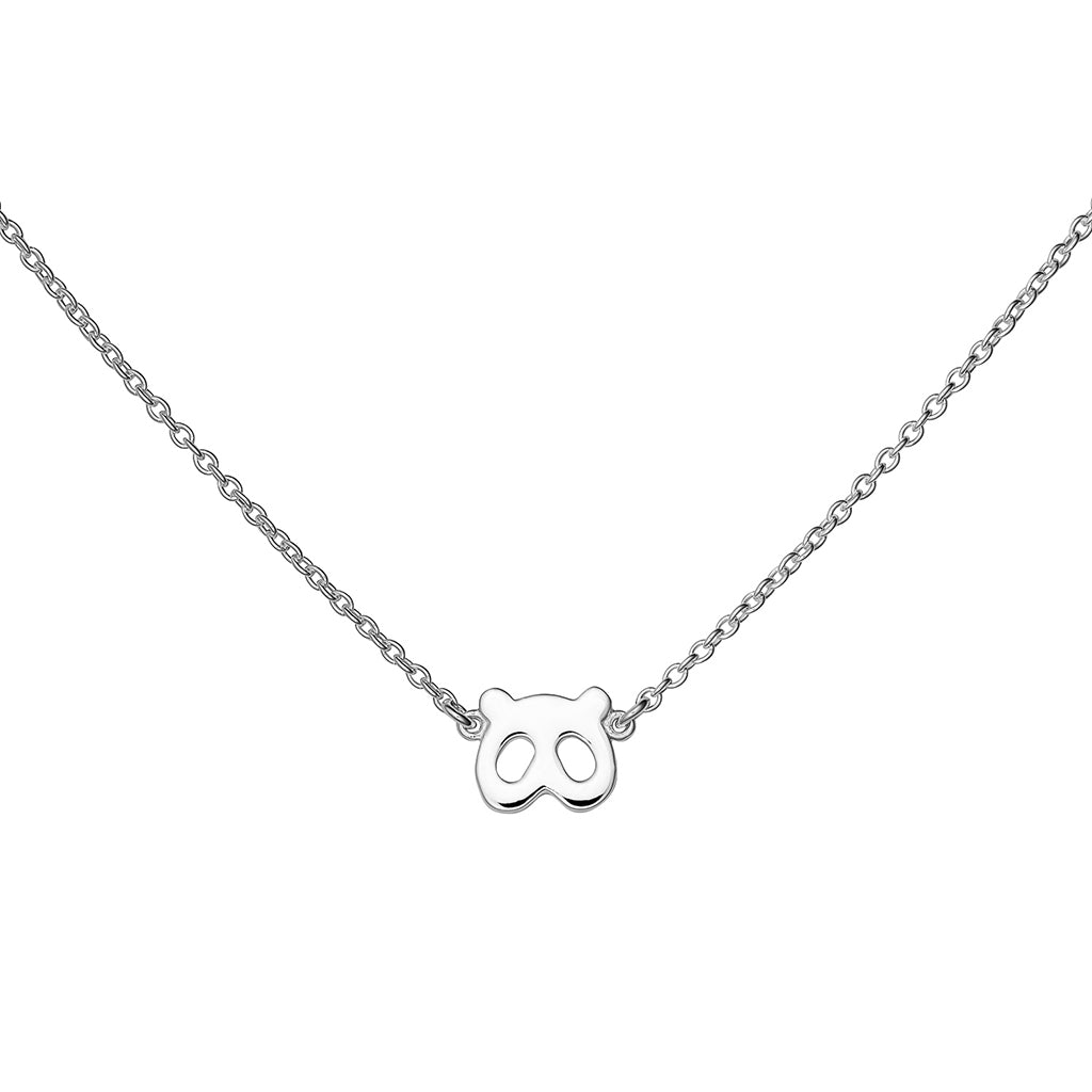 PANDA NECKLACE - BO + BALA - KIDS SILVER JEWELLERY NZ