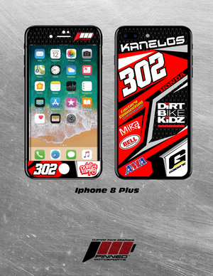 Racer Series Phone Graphic