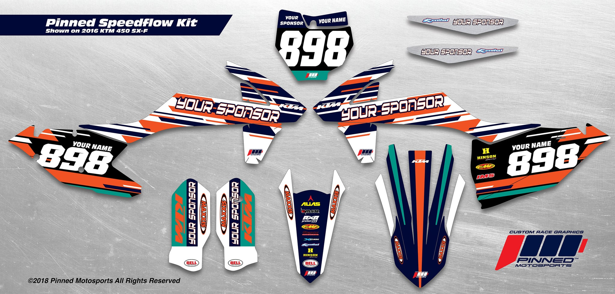 Pinned Speedflow Semi-Custom Graphics