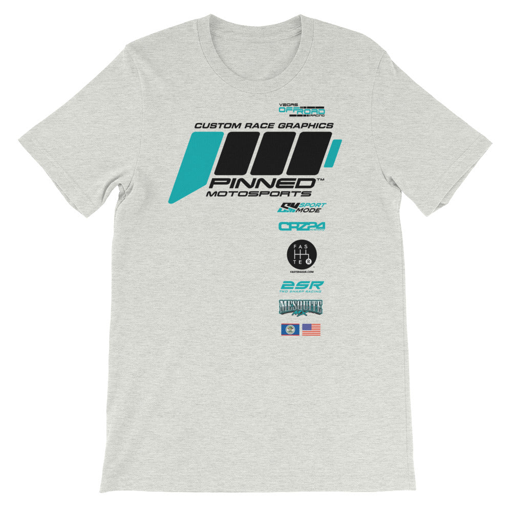 Pinnedmotosports Race tee