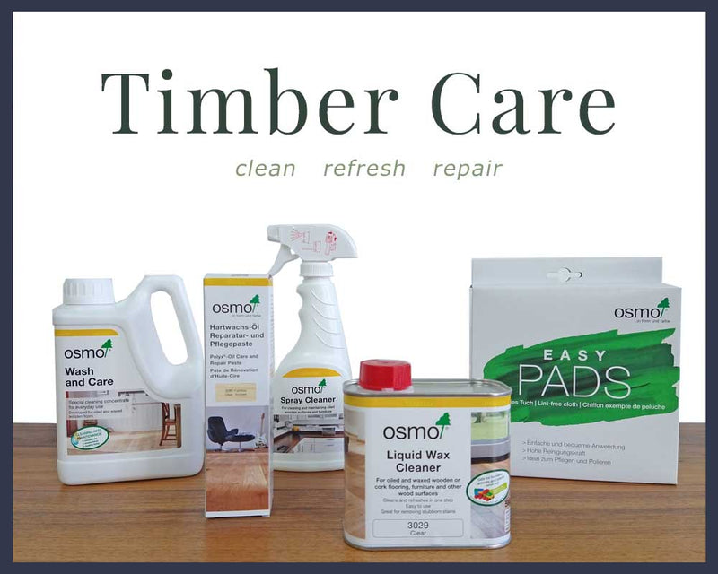 Timber Care - Cleaning and Maintenance