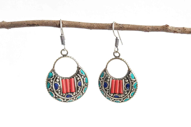 Tibetan Earrings - Style 2