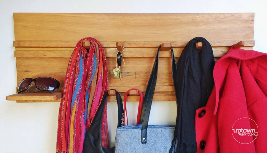 Sliding Peg Coat Rack Angle 2