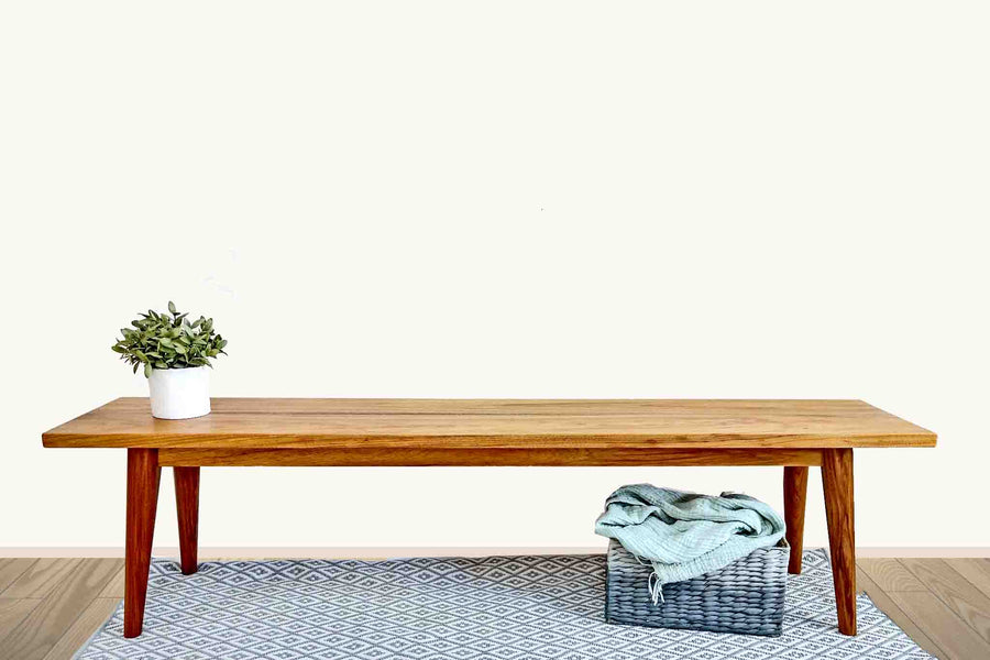 Timber Bench Seat L1800mm x H450mm x 350mm.