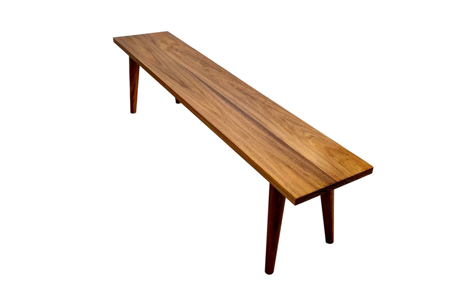 Signature Timber Bench Seat made from Tasmanian Blackwood.