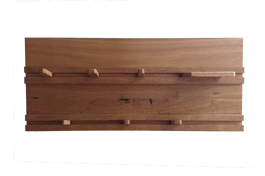 Sliding Peg Coat Rack