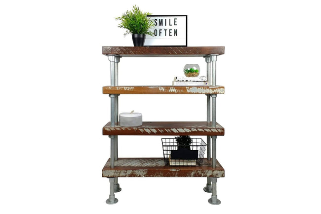 The Ferry - 4 Tier Industrial Shelves