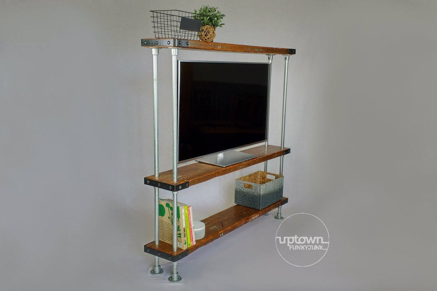 Book shelf entertainment unit