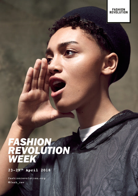 The #whomademyclothes Campaign & Pure Pod events to attend during Fashion Revolution Week 2018