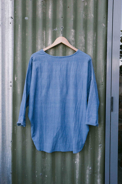 Auyervedic hand loomed top