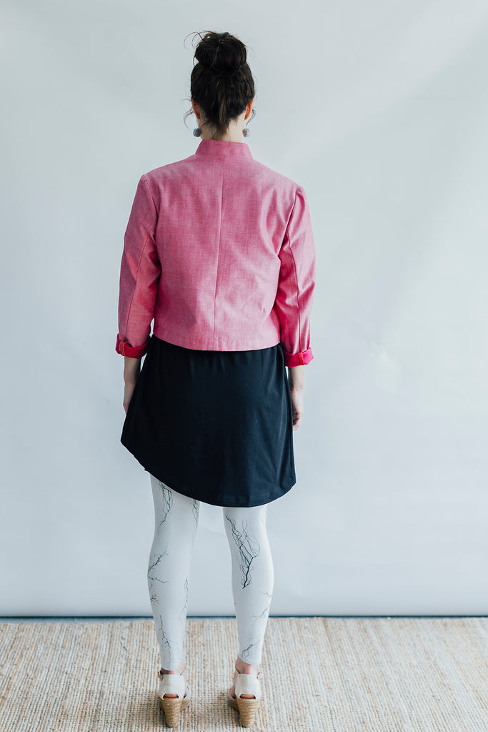 Awaken jacket - dusty rose