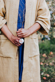 Ayurvedic  hand loomed duster coat