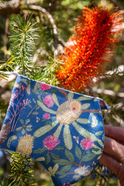 Banksia blue - mask