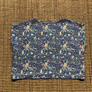 Banksia linen Top - blue