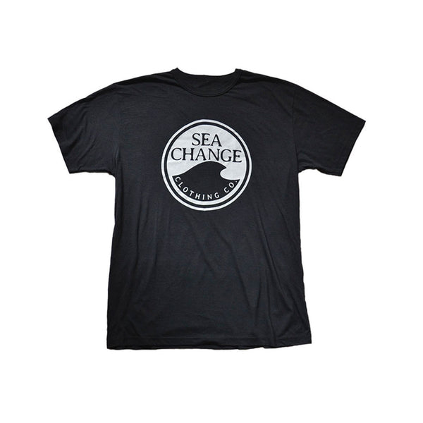 SEA Change Logo Tee Shirt Charcoal