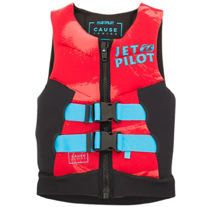 JET PILOT 2020 THE CAUSE SHARK F/E KIDS NEO VEST