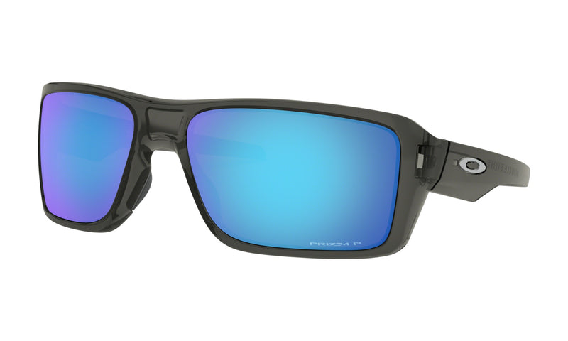 OAKLEY DOUBLE EDGE Grey Smoke W/ Prizm Sapphire Polarized
