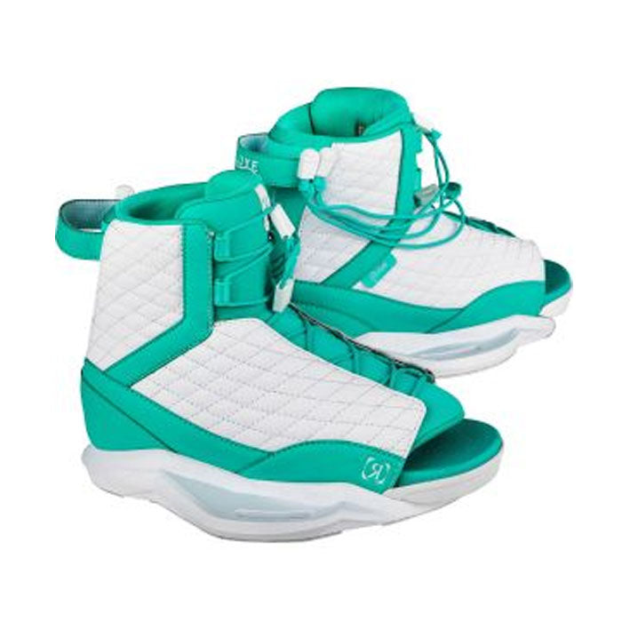 RONIX Luxe Boot - White / Turquoise