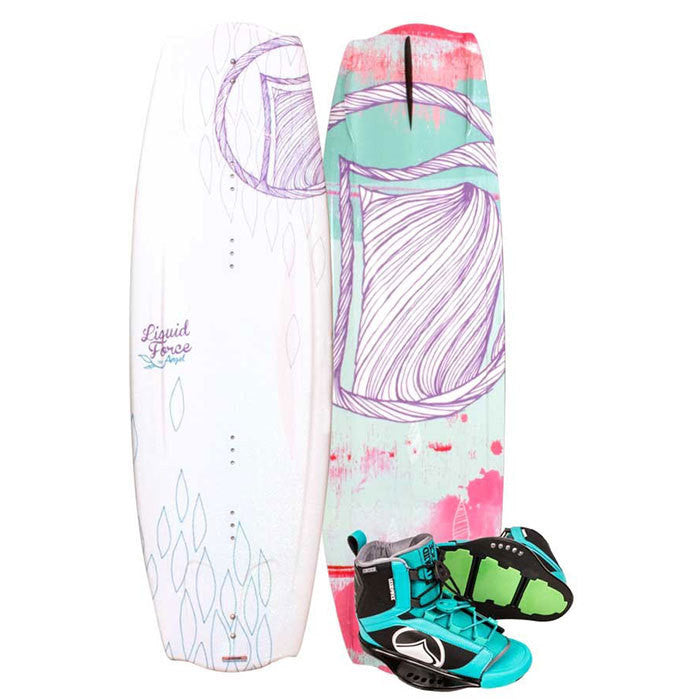 Liquid Force Angel Wakeboard 134 with Plush Binding