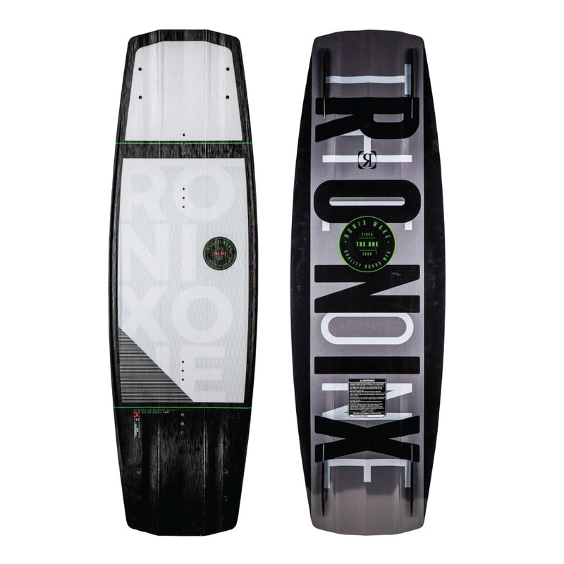 RONIX One ATR w/ Fuse Stringers - White / Black / Caffeinated