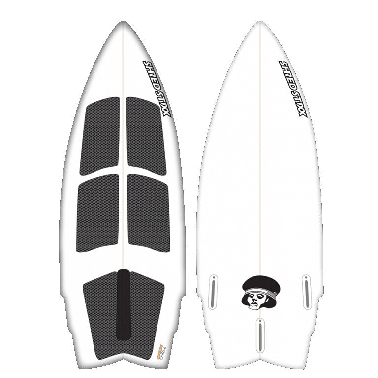 "Shread Stixx Headband 4'11"" Wakesurfer"