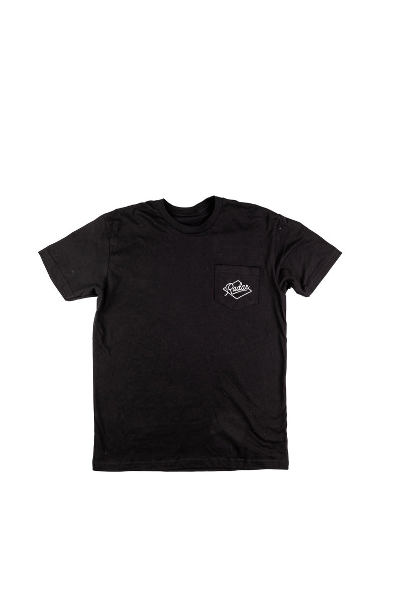 RADAR 2020 Branded Pocket T-Shirt (Black)