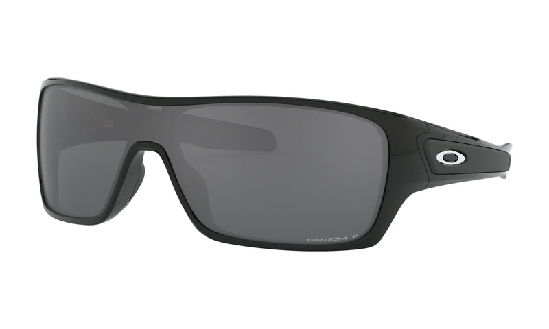 OAKLEY TURBINE ROTOR Polished Black W/ Prizm Black Polarized