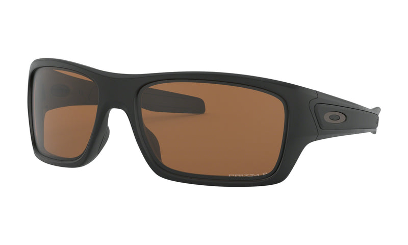 OAKLEY TURBINE Matte Black W/ Prizm Tungsten Polarized