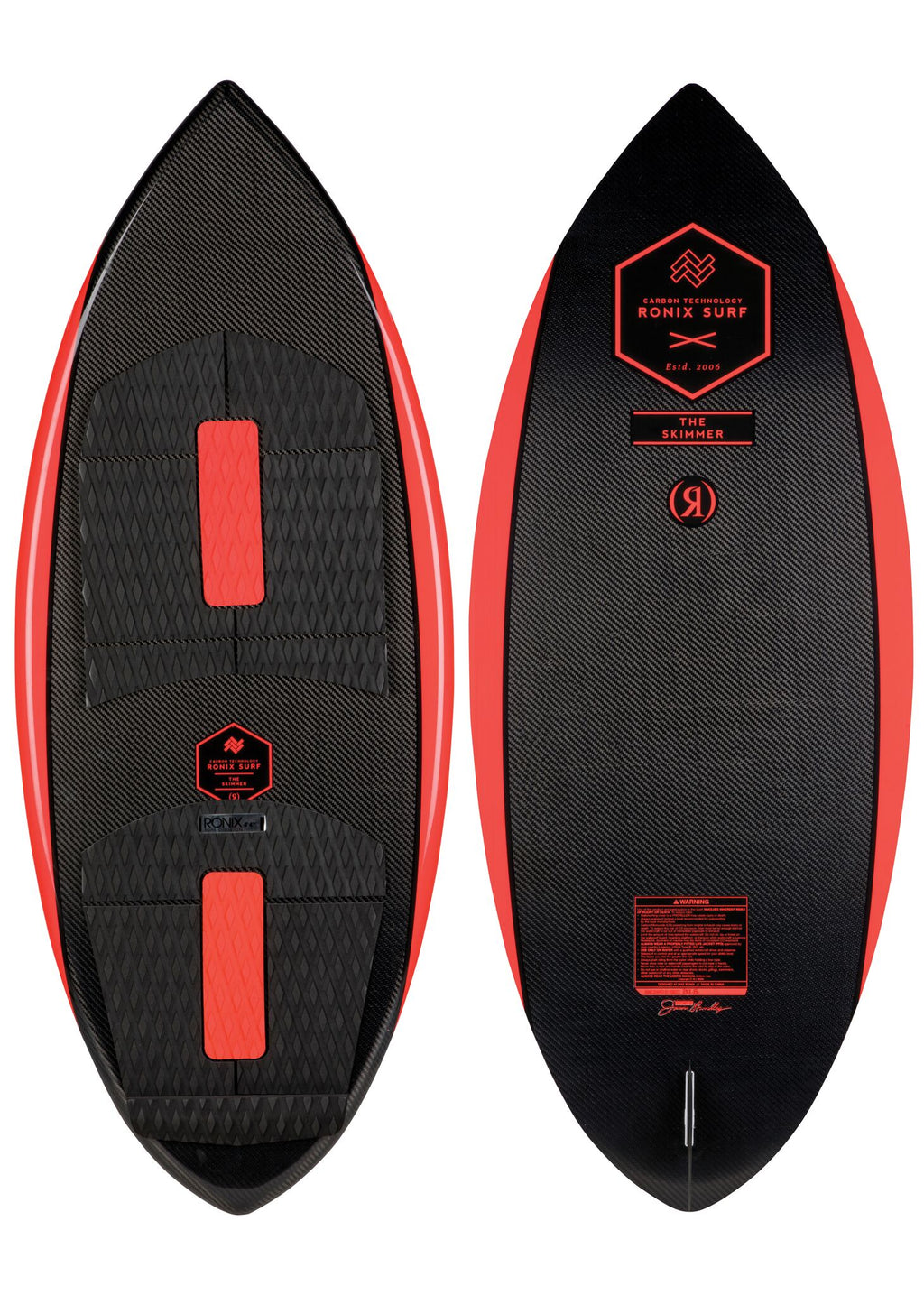RONIX Carbon Air Core 3 - The Skimmer - Carbon / Caffeinated