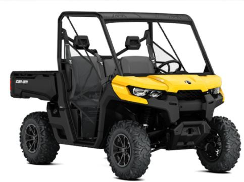 Can-Am Defender SSV DPS HD10 Yellow