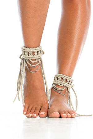 ORACLE DAWN CUFFS | Nude