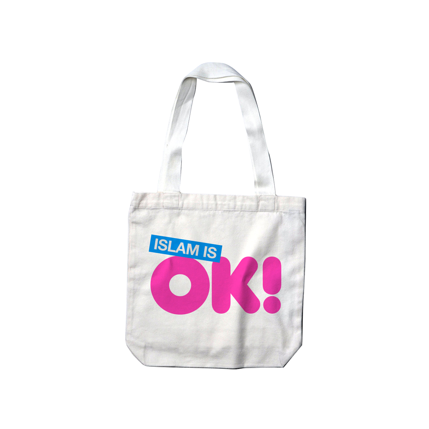 Islam is OK! Tote bag White