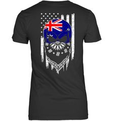 American Grown with Australia Roots Next Level The Boyfriend Tee / Black / S Shirts