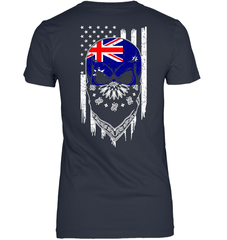 American Grown with Australia Roots Next Level The Boyfriend Tee / Indigo / S Shirts