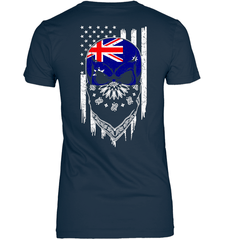 American Grown with Australia Roots Next Level The Boyfriend Tee / Midnight Navy / S Shirts