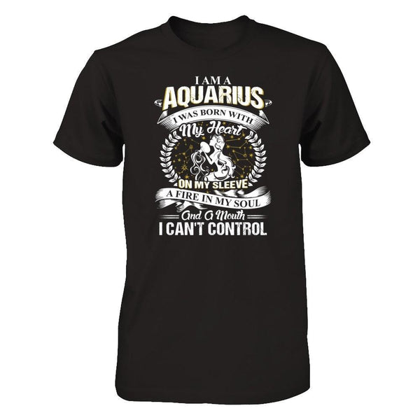Shirts - Aquarius - Fire in soul - Delightee.com