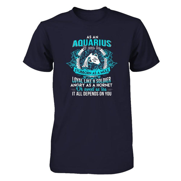 Shirts - As a Aquarius - Delightee.com