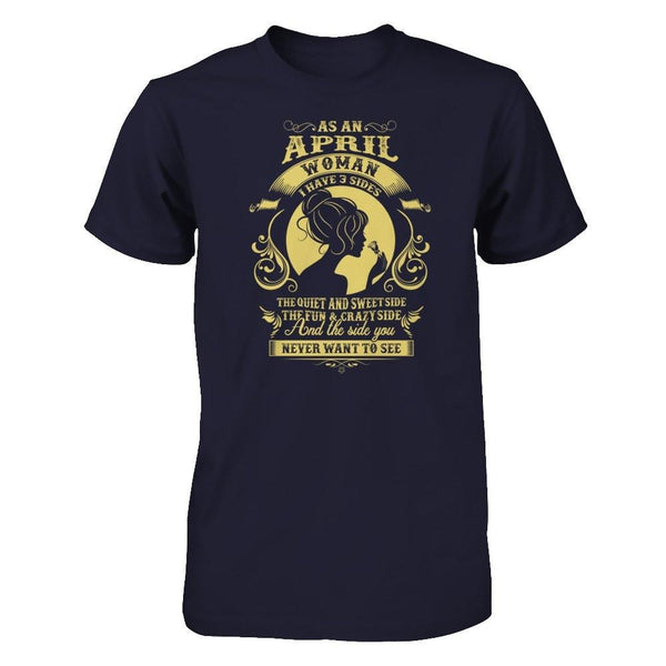 Shirts - As an April woman - Delightee.com