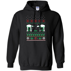 AT_AT Christmas G185 Gildan Pullover Hoodie 8 oz. / Black / Small Shirts