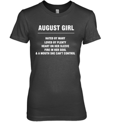 August Girl T-shirt Gildan Ultra Cotton Women's T-Shirt / Black / S Shirts
