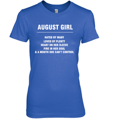 August Girl T-shirt Gildan Ultra Cotton Women's T-Shirt / Royal / S Shirts