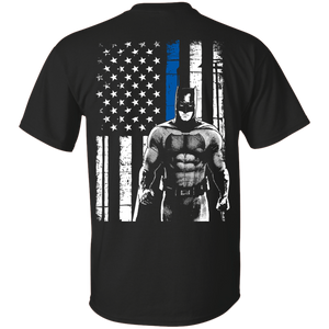 Shirts - Batman - Thin Blue Line - Delightee.com