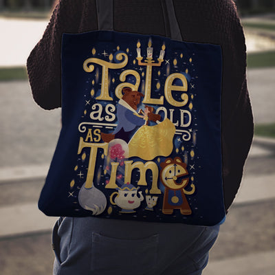 Bags - Beauty and The Beast Tote Bag - Delightee.com