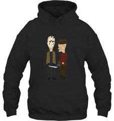 Beavis Butthead Gildan Heavy Blend Hoodie 8oz / Black / S Apparel