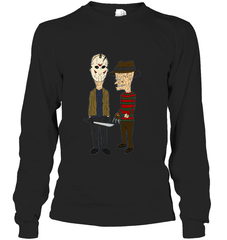Beavis Butthead Gildan Long Sleeve T-Shirt / Black / S Apparel