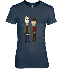 Beavis Butthead Next Level The Boyfriend Tee / Midnight Navy / S Apparel
