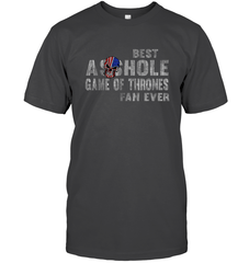 Best Asshole GoT Fan Ever Gildan Ultra Cotton T-Shirt / Dark Heather / S Shirts