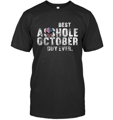 Best Asshole Oct Guy Gildan Ultra Cotton T-Shirt / Black / S Shirts