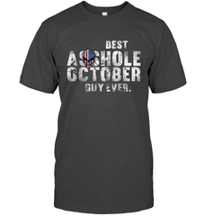 Best Asshole Oct Guy Gildan Ultra Cotton T-Shirt / Dark Heather / S Shirts