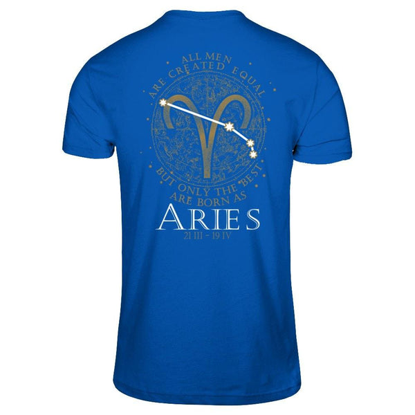 Shirts - Best Men Are Born as Aries - Delightee.com